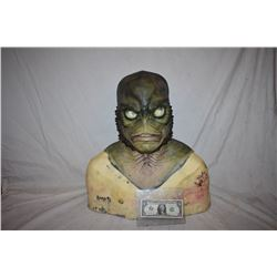 CREATURE FROM THE BLACK LAGOON LIKE THE QUEST RANA SCREEN USED SILICONE MASK 1