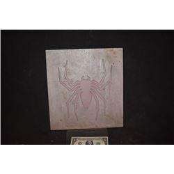 SPIDER-MAN 1 2 & 3 BACK SPIDER GLYPGH ORIGINAL ADI ALUMINUM MOLD 3
