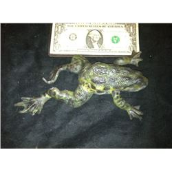ZZ-CLEARANCE MAGNOLIA SCREEN USED HERO PAINTED UNARMATURED FROG
