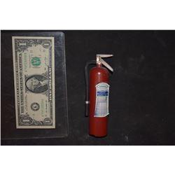 DANTES PEAK MINIATURE METAL FIRE EXTINGUISHER 1