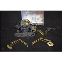 DEEP STAR SIX MINIATURE MINING MACHINE WITH CHISEL AND LIGHTS