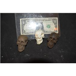 TERMINATOR 2 FUTURE WAR SKULLS AND T-800 HEAD CASTING