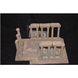 MINIATURE ANCIENT GREEK & ROMAN RUINS BUILT BY GRANT MCCUNE 2