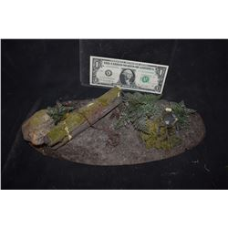 CABIN IN THE WOODS MINIATURE WOODS SET WITH BEAR TRAP