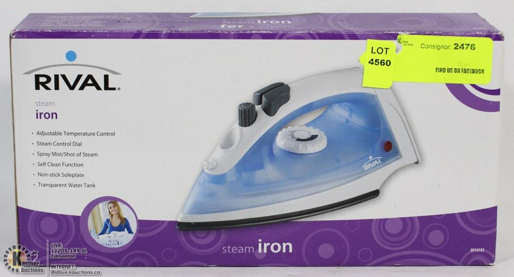 Rival Steam Iron