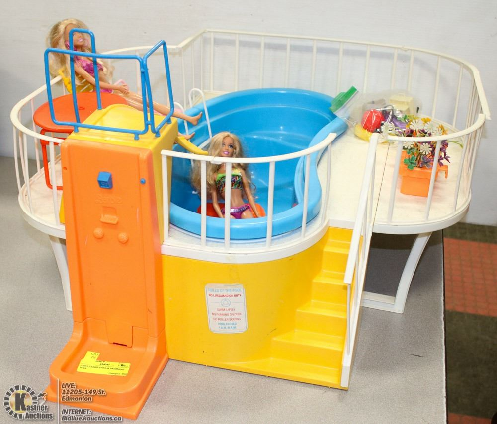 1980 S Barbie Dream Swimming Pool