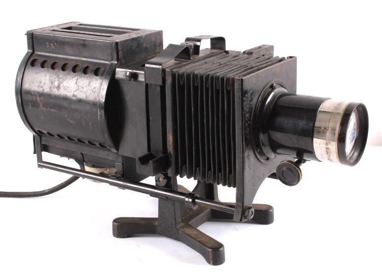 Keystone Magic Lantern Glass Slide Projector