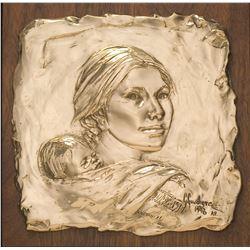 Sacagawea Study (relief)
