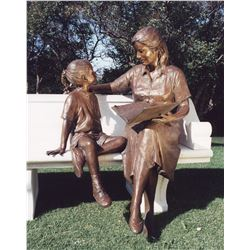Mother and Daughter - Sold with Pedestal