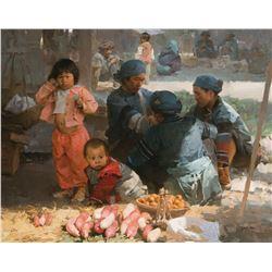 Yangwu Market Day, Yun Nan Province