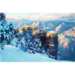 Snow at the Grand Canyon