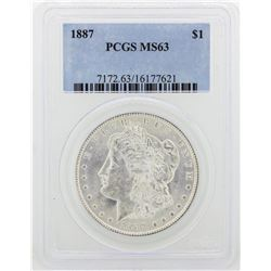 1887 PCGS MS63 Morgan Silver Dollar