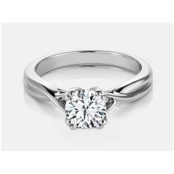 Diamond Ring - 18KT White Gold