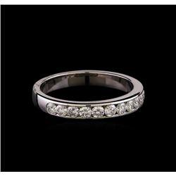 0.53 ctw Diamond Ring - 14KT White Gold