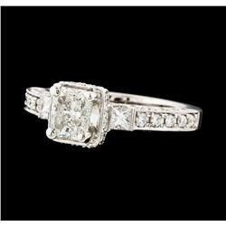 1.74 ctw Diamond Ring - 18KT White Gold