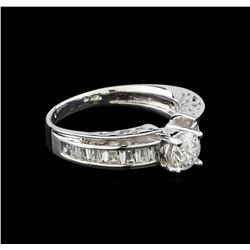 14KT White Gold 2.21 ctw Diamond Ring