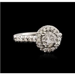 14KT White Gold 1.23 ctw Diamond Ring