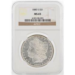 1880-S NGC MS65 Morgan Silver Dollar