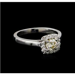 0.66 ctw Diamond Ring - 14KT White Gold