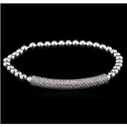1.27 ctw Diamond Bracelet - 14KT White Gold