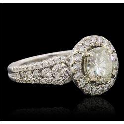 18KT White Gold 3.48 ctw Diamond Ring