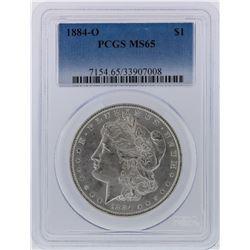 1884-O PCGS MS65 Morgan Silver Dollar