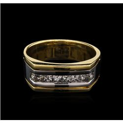 0.55 ctw Diamond Ring - 14KT Two-Tone Gold