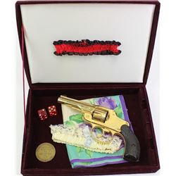 """""""Ladies Set"""" includes antique malts, Henley & Co. .32 cal. hammerless revolver later gold plated, an"""