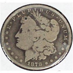 1878 CC Morgan Silver Dollar.