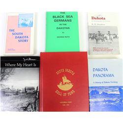 Collection of 6 South Dakota books includes South Dakota Hall of Fame, Where My Heart Is, Dakota Pan