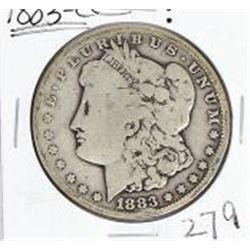 1883 CC Morgan Silver Dollar.