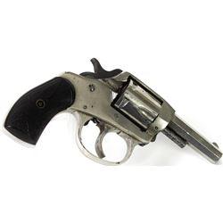 "American Bull Dog .32 cal. NVSN double action revolver, 2 1/2"" barrel, original nickel finish and ea"