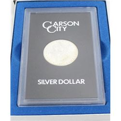 Uncirculated 1883 CC Morgan Silver Dollar