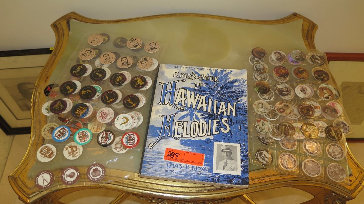 King's Book of Hawaiian Melodies & Collection of