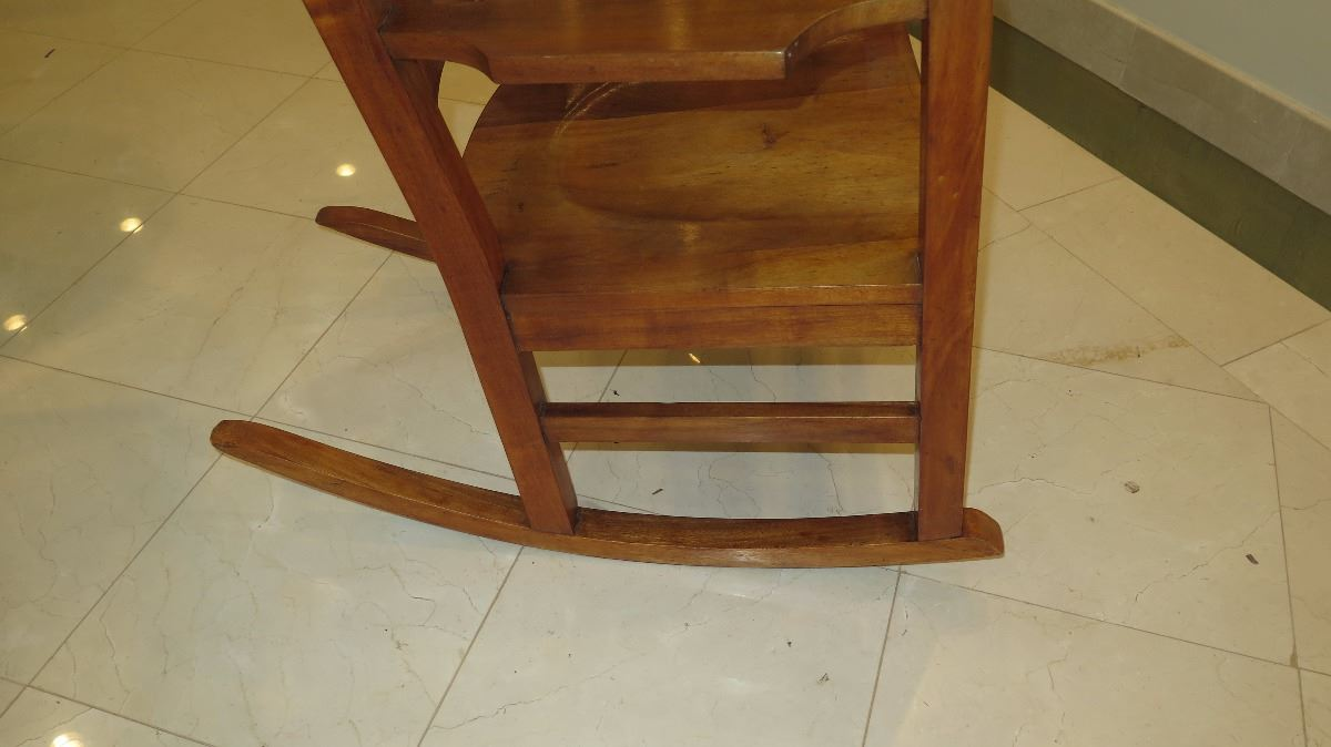 Incredible Curly Koa Rocking Chair Machost Co Dining Chair Design Ideas Machostcouk
