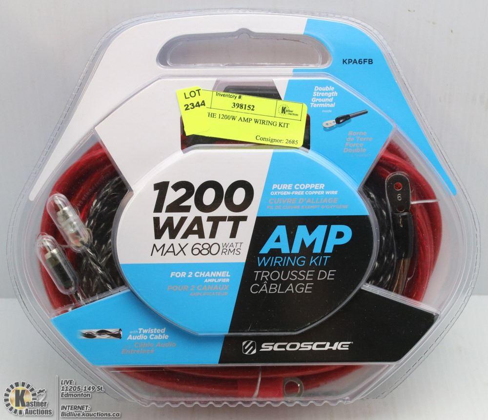 Groovy Scosche 1200W Amp Wiring Kit Wiring Database Obenzyuccorg