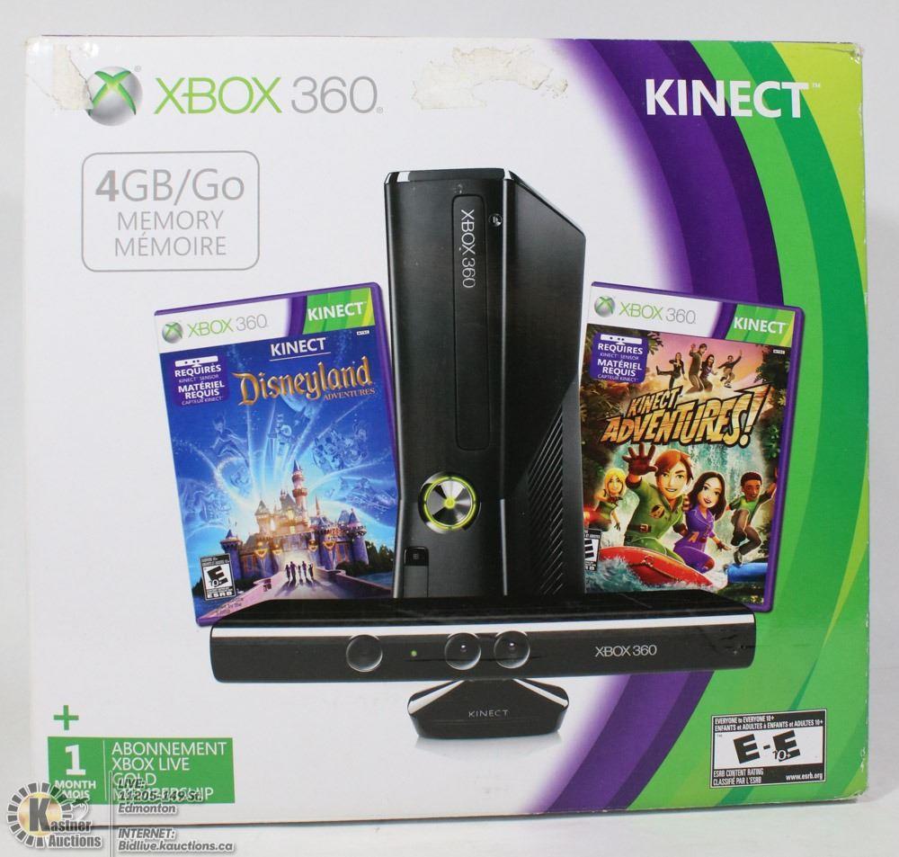 BRAND NEW XBOX 360 KINECT DISNEYLAND ADVENTURES