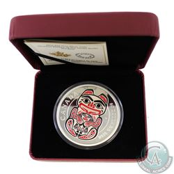 2016 Canada $50 Mythical Realms of the Haida - The Bear 5oz Fine Silver Coin (TAX Exempt). This $50