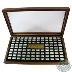 Franklin Mint Centennial Car 108x Mini-Ingot Sterling Silver Collection. Each bar weighs 1.6 grams a