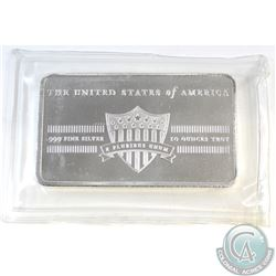 United States of America Shield .999 Fine Silver 10oz Bar Sealed (TAX Exempt).