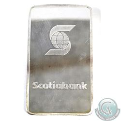 Scotiabank 10oz 999 Fine Silver Bar (TAX Exempt).