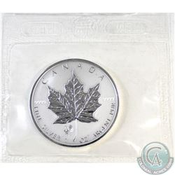 2005 Canada $5 Rooster Privy Silver Maple Leaf (TAX Exempt). Sealed.