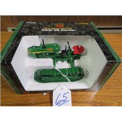 Oliver HG, Wide gauge (Green) w/ metal tracks 1/16 scale
