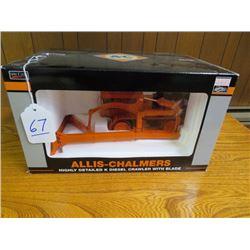 Allis Chalmers Model K with Smith hyd. angle dozer w/ metal tracks 1/16 scale