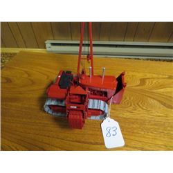 International TD24 with pipe layer equipment, (Red colour) 1/32 scale