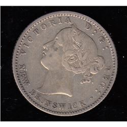 Br 905. N.B. 1864 10 cents