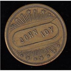 Br 922. John Joy bar/pool check.