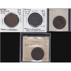 Breton Tokens - Group of four Br 965.