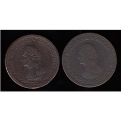 Wellington Tokens - A pair of Br 970.