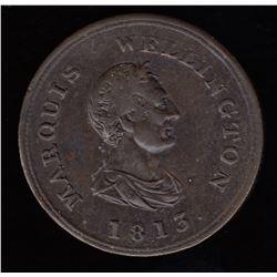 Wellington Tokens - Br 978. Marquis Wellington 1813.